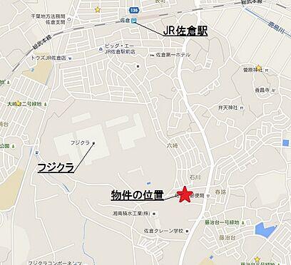 店舗(建物全部)-佐倉市石川 周辺地図