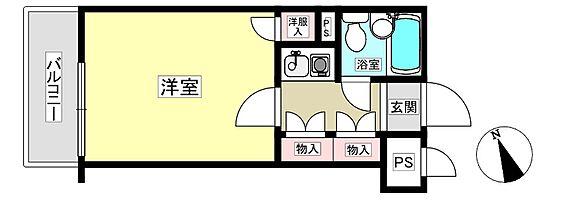 区分マンション-新宿区大久保2丁目 間取り