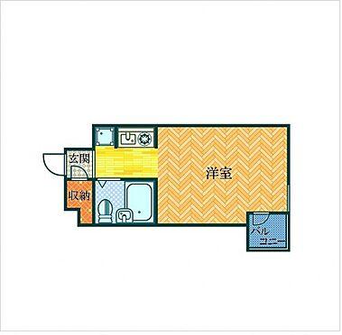 マンション(建物一部)-神戸市兵庫区西仲町 間取り