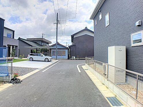 戸建賃貸-西尾市吉良町上横須賀池端 大通りから少し離れた閑静な住宅街で落ち着いた生活ができます♪