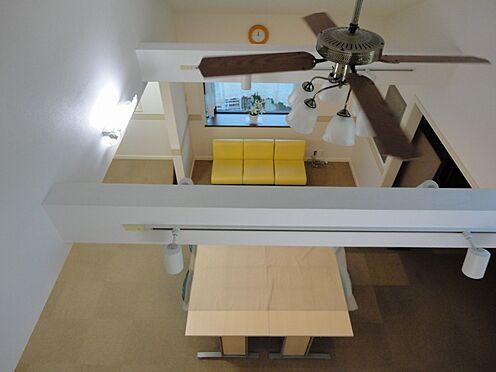 店舗・事務所・その他-平塚市諏訪町 ロフトスペースから洋室を見たところ。