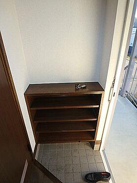 アパート-札幌市南区南沢三条4丁目 単身者様でも沢山のシューズが収納できます。