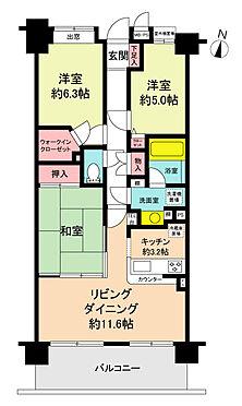 マンション(建物一部)-和光市新倉2丁目 間取り
