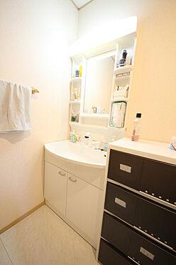 建物全部その他-八王子市川口町 シャワー付き洗面台は朝の身支度にもとても役立ちます。