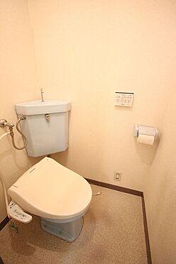 中古マンション-橿原市栄和町 温水洗浄便座は2012年に新調されております。