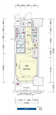 マンション(建物一部)-神戸市兵庫区羽坂通2丁目 間取り