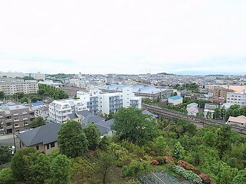 中古マンション-横浜市港南区野庭町 バルコニーからの眺望