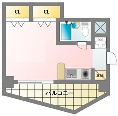 区分マンション-大阪市天王寺区大道3丁目 随所に収納スペースを確保