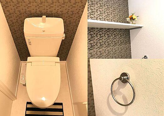 アパート-狭山市入間川3丁目 トイレ