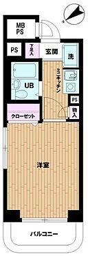 マンション(建物一部)-相模原市中央区中央1丁目 間取り