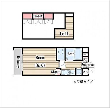 マンション(建物一部)-大阪市北区末広町 間取り