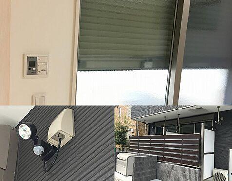 アパート-富士見市鶴瀬東1丁目 1F設備(防犯カメラ・ライト・シャッター)
