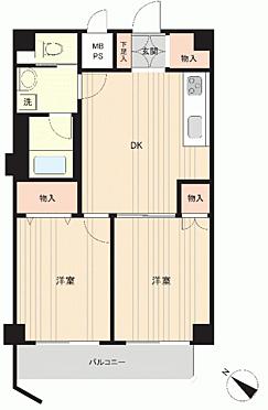 中古マンション-板橋区徳丸6丁目 間取り