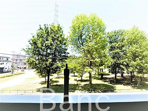 中古マンション-足立区谷在家2丁目 バルコニーからの眺望