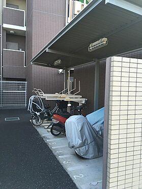 中古マンション-上尾市緑丘3丁目 バイク・駐輪場