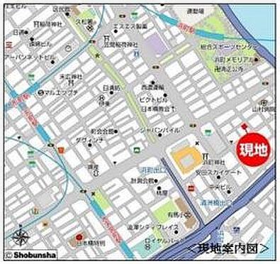 店舗事務所(建物一部)-中央区日本橋浜町3丁目 地図