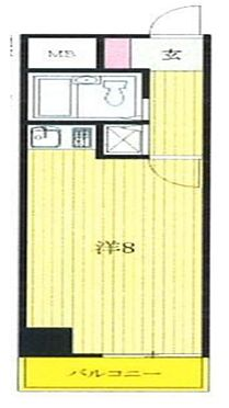 マンション(建物一部)-大田区東馬込1丁目 間取り