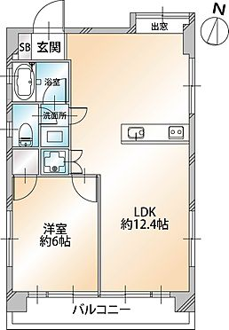 マンション(建物一部)-渋谷区西原3丁目 間取り