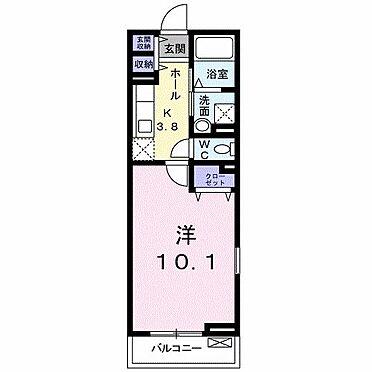 アパート-平塚市撫子原 間取り
