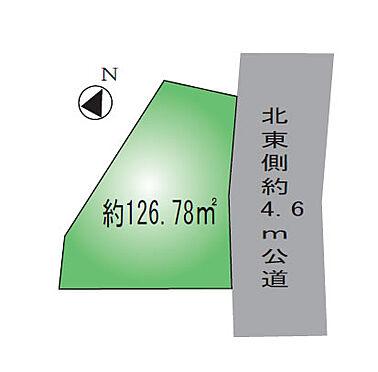 アパート-相模原市中央区淵野辺本町1丁目 敷地図