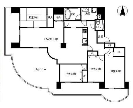 マンション(建物一部)-神戸市西区月が丘5丁目 広いルーフバルコニーを持つファミリータイプの物件