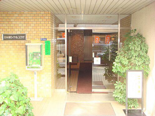 マンション(建物一部)-中央区日本橋兜町 入口です。