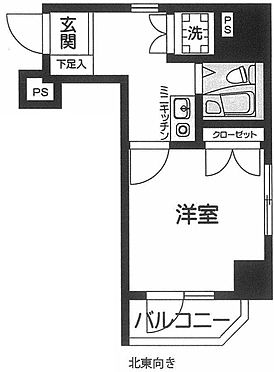 マンション(建物一部)-品川区南大井6丁目 間取り