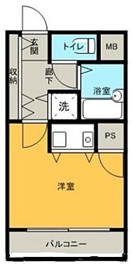 マンション(建物一部)-秋田市山王3丁目 間取り