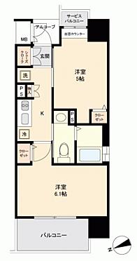 マンション(建物一部)-福岡市東区馬出2丁目 間取り