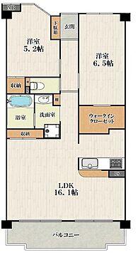 中古マンション-大阪市城東区中浜2丁目 間取り