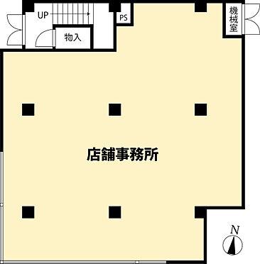 店舗事務所(建物全部)-大和市下鶴間 間取り