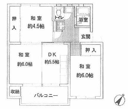 マンション(建物一部)-横浜市青葉区美しが丘1丁目 間取り