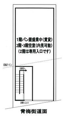 店舗(建物全部)-中野区中央5丁目 区画図
