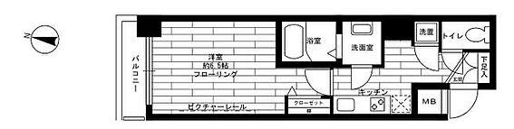 マンション(建物一部)-千代田区神田東松下町 間取り