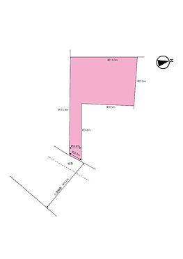 土地-大和市桜森2丁目 区画図
