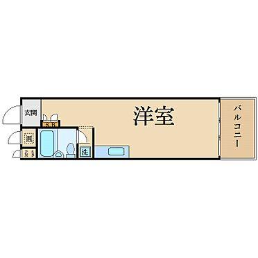 マンション(建物一部)-大阪市西区新町1丁目 水まわりをコンパクトにまとめ動線に配慮