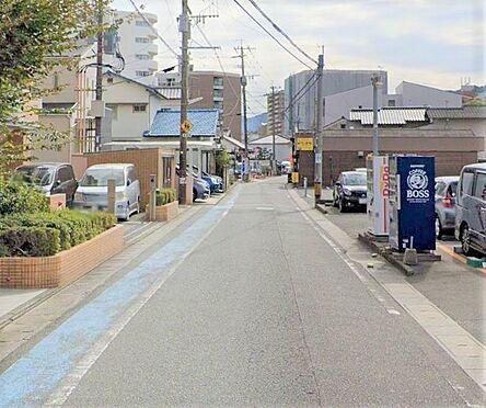 区分マンション-筑紫野市二日市西1丁目 前面道路写真。