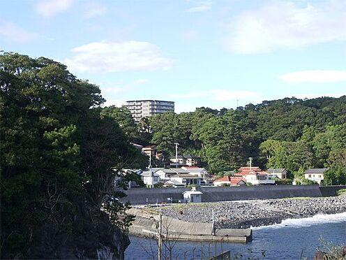 中古マンション-伊東市八幡野 【建物外観】海までも徒歩圏です。