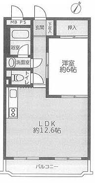 マンション(建物一部)-横浜市旭区善部町 間取り