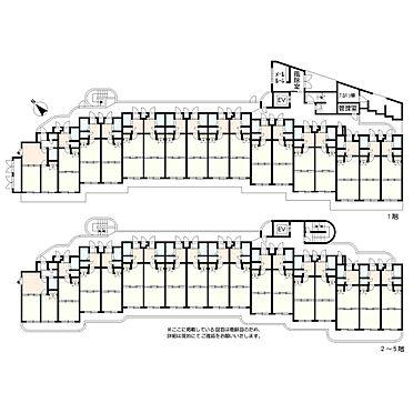 マンション(建物全部)-仙台市泉区泉中央4丁目 間取り全体図