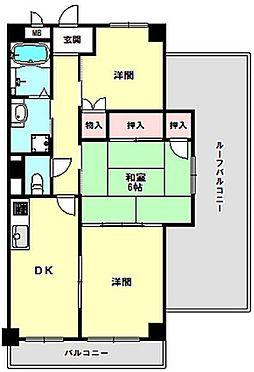 マンション(建物一部)-神戸市長田区若松町10丁目 北西向きの角部屋です