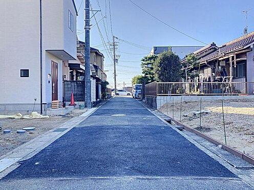 新築一戸建て-名古屋市天白区海老山町 前面道路
