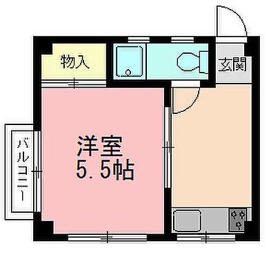 マンション(建物全部)-横浜市保土ケ谷区岡沢町 間取り