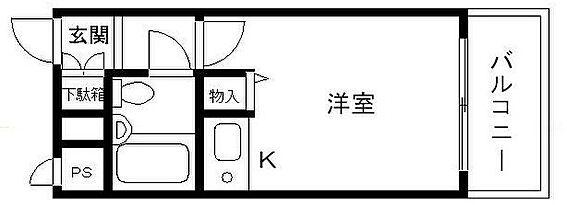 マンション(建物一部)-京都市中京区下黒門町 間取り