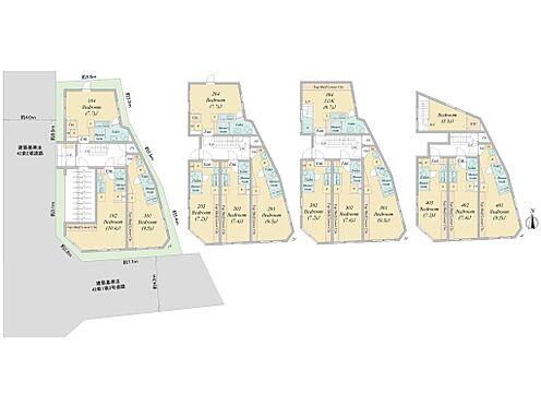 マンション(建物全部)-板橋区赤塚新町1丁目 1R×13戸、1LDK×1戸