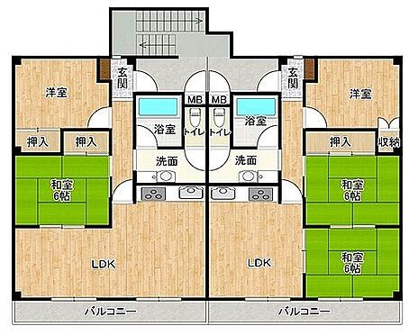マンション(建物全部)-和泉市池上町 間取り
