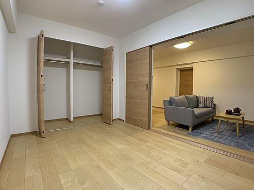 中古マンション-名古屋市瑞穂区彌富通2丁目 大容量収納可能なクローゼット付きです