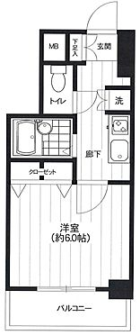 マンション(建物一部)-文京区本駒込1丁目 間取り