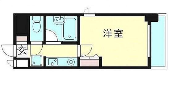 マンション(建物一部)-大阪市都島区片町1丁目 二面開口の洋室