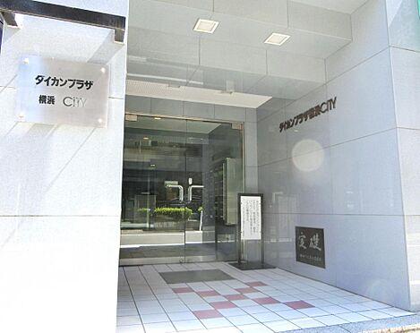 マンション(建物一部)-横浜市中区山田町 入口です。